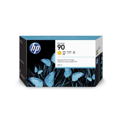 HP 90 Inktcartridge, Geel