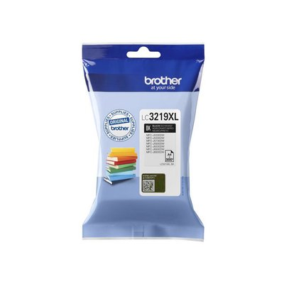Brother LC-3219XL Inktcartridge, Hoog Rendement, Zwart