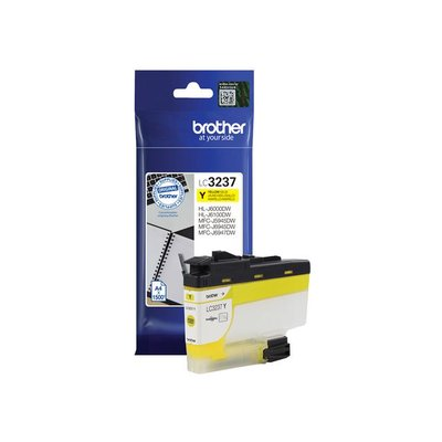 Brother LC-3237 Inktcartridge, Geel