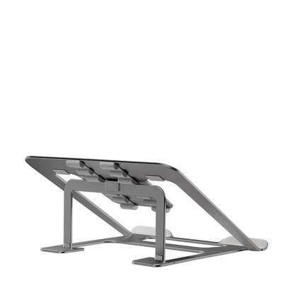 Foldable laptop stand - Grey 10-17i max. 10kg