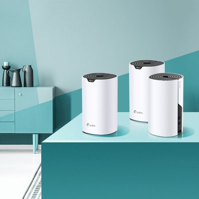 TP-LINK Deco S4(3-pack) Dual-band (2.4 GHz / 5 GHz) Wi-Fi 5 (802.11ac) Wit 2 Intern